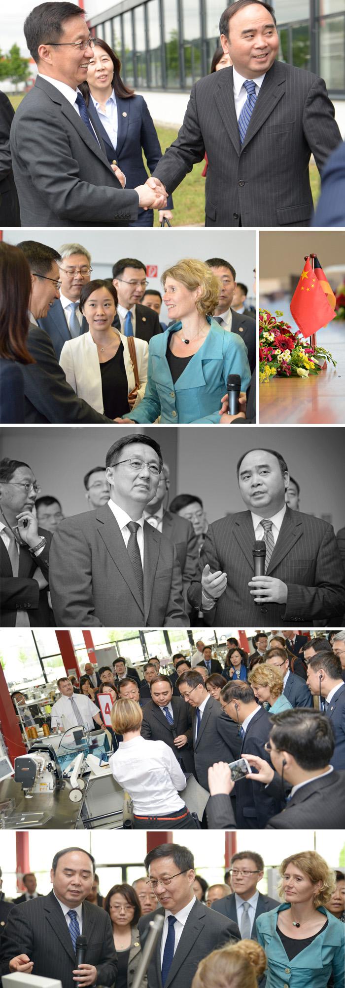 Han Zheng Besuch