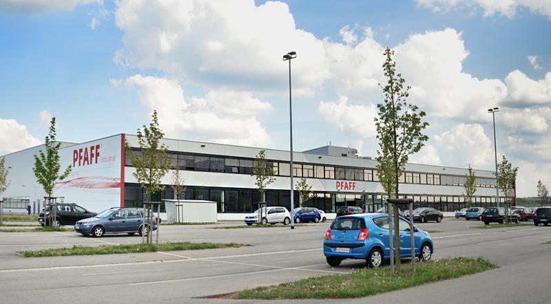 PFAFF Industrial Gebäude